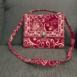 Vera Bradley pink/white purse PERFECT CONDITION